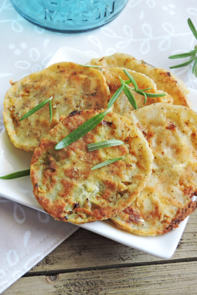 Oven Fried Green Tomatoes