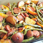 spicy-turkey-sausage-veggie-bake