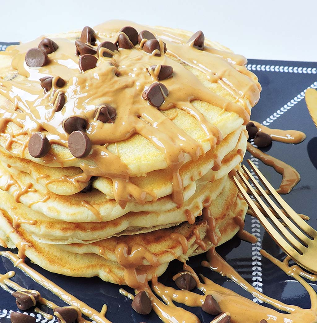 Extra Fluffy Chocolate Chip Pancakes Beautiful Eats Things