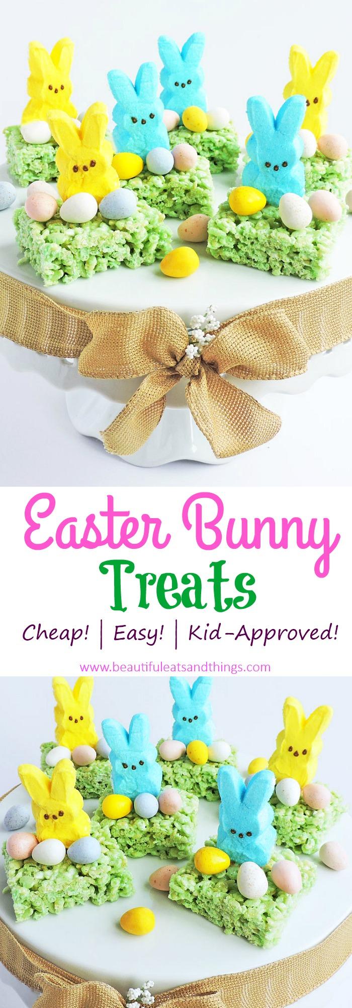 Easy Easter Bunny Treats-Cute Ideas for Easter Treats