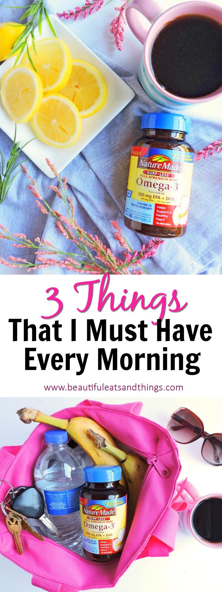 My top 3 things that i must have every morning