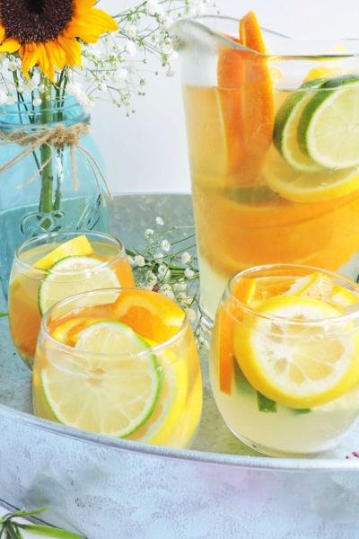 Summer Citrus White Sangria