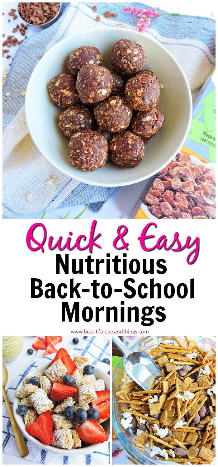 Quick & Easy Nutritious Back-to School Mornings