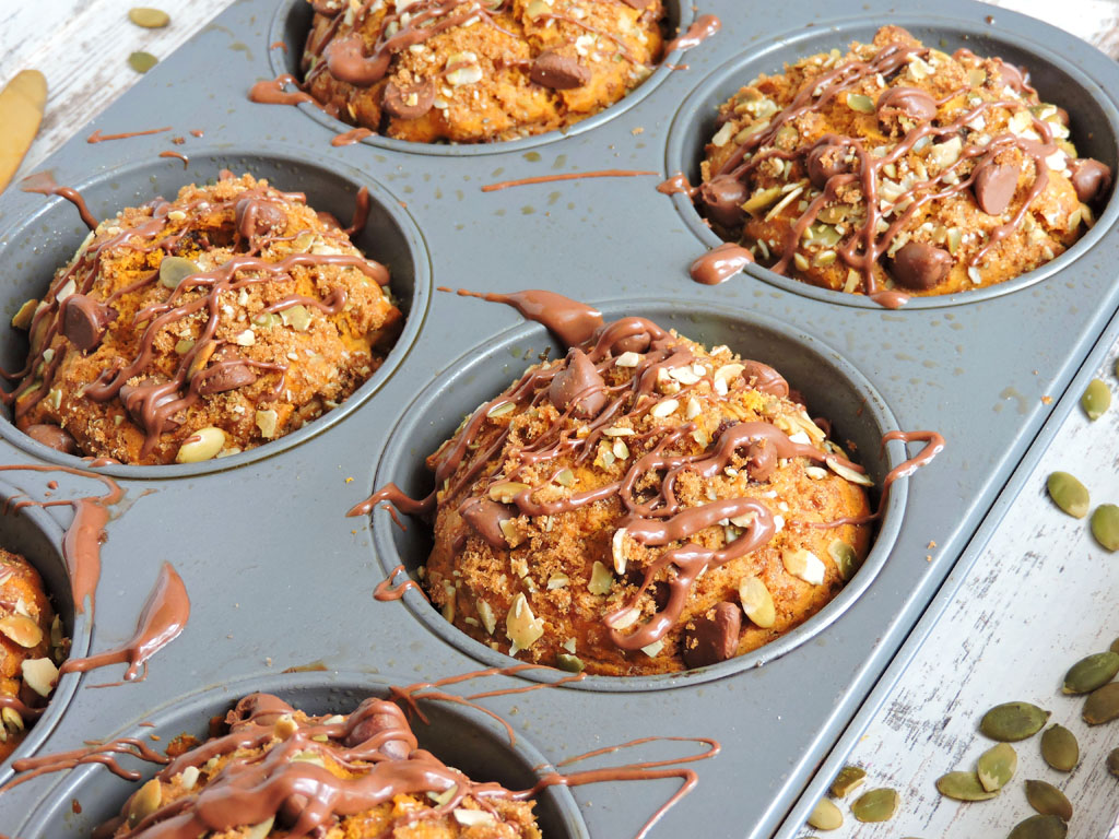 Chocolate Pumpkin Streusel Muffins2-new