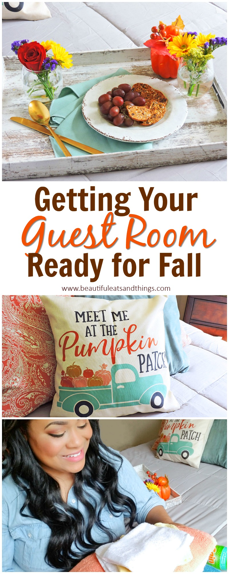 how to prepare your guest room for fall