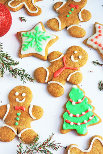 Irresistible Chewy Gingerbread Cookies