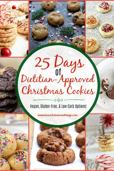 25 Days of Dietitian-Approved Christmas Cookies