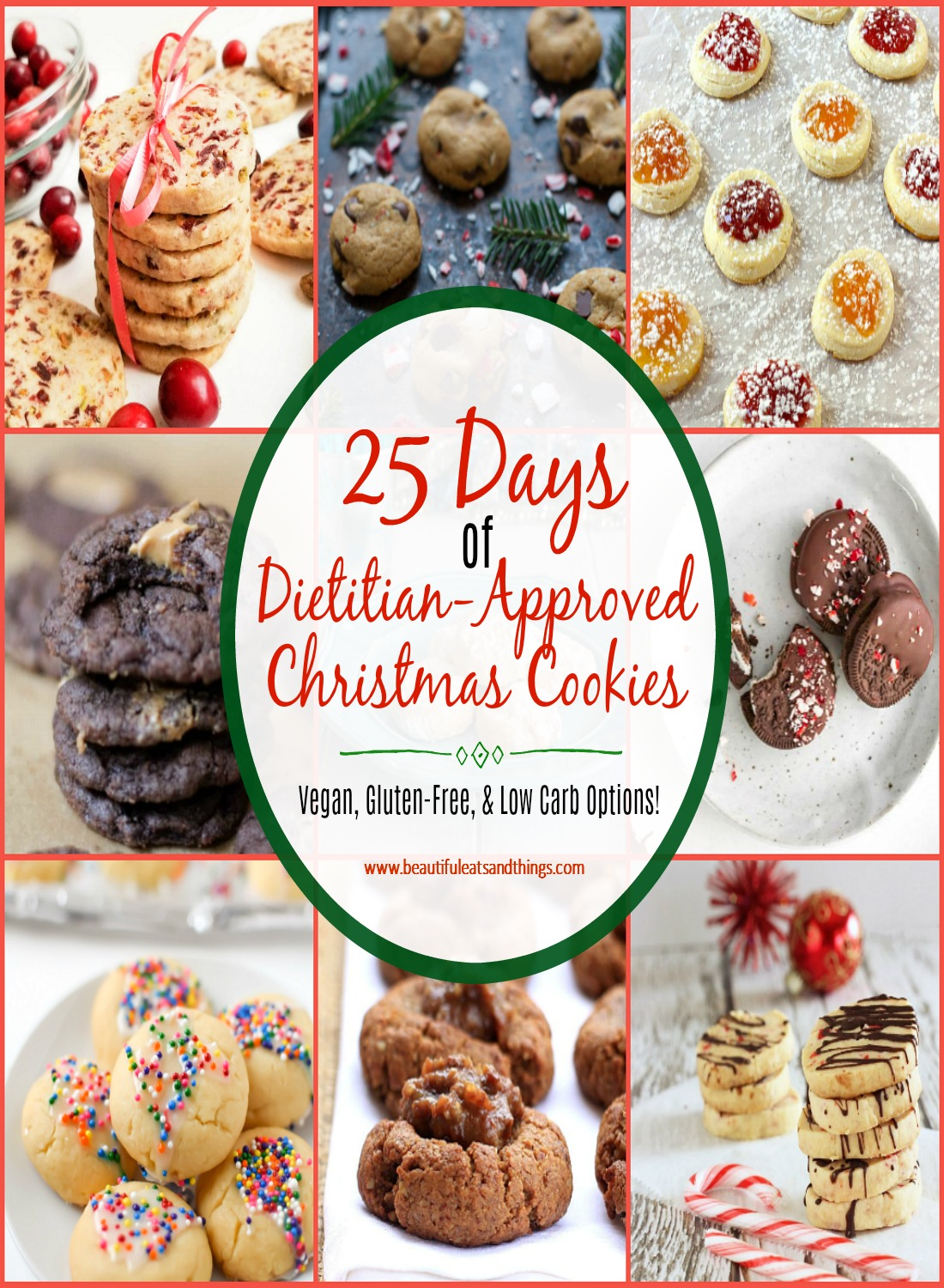 25 Days of Christmas Cookies