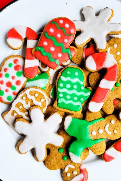 Irresistible Chewy Gingerbread Cookies