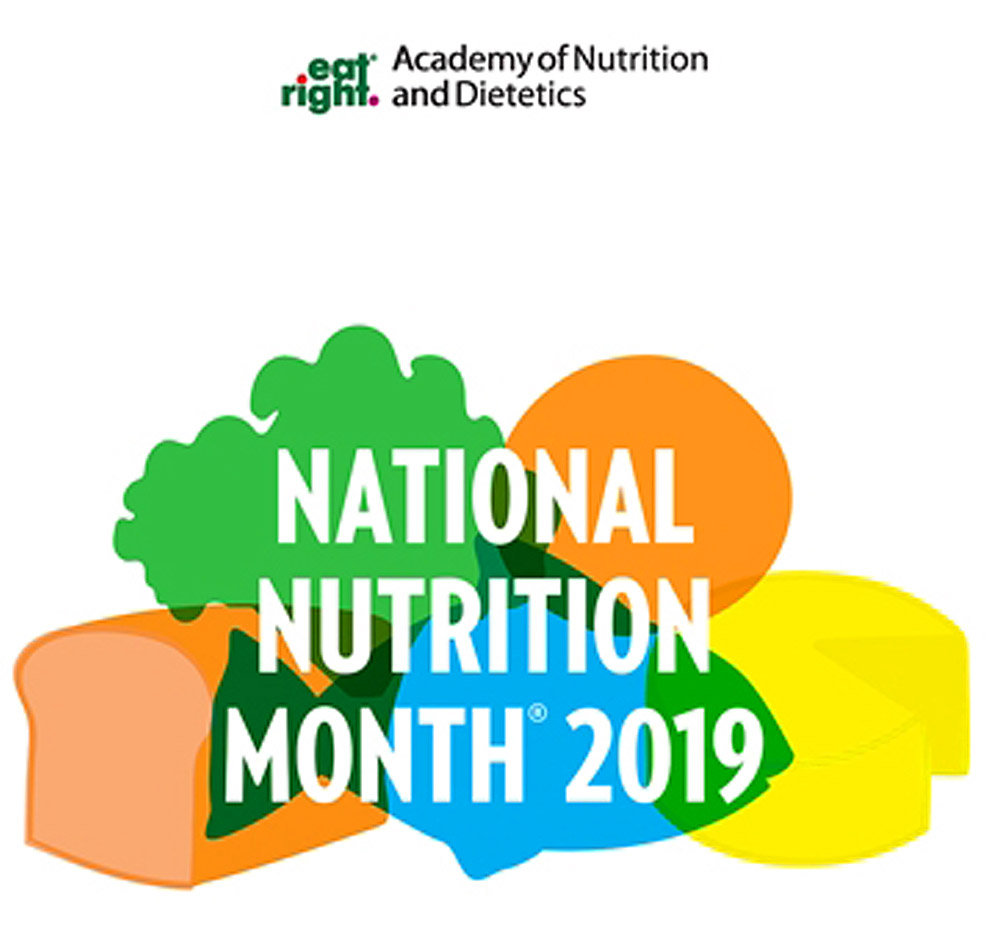 i can t believe that it s already national nutrition month woohoo if you can t tell by now i m extremely excited you may be wondering