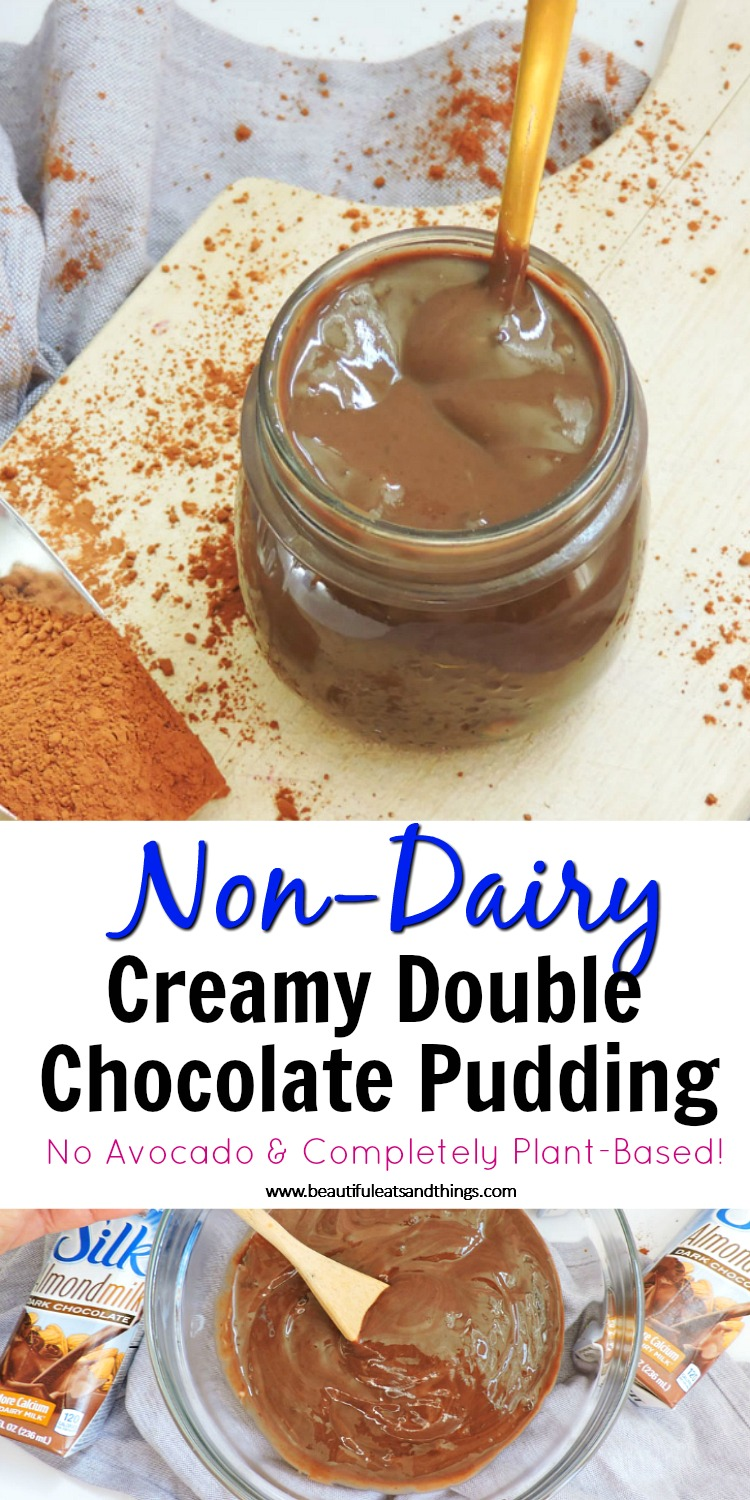 Non-Dairy Creamy Double Chocolate Pudding