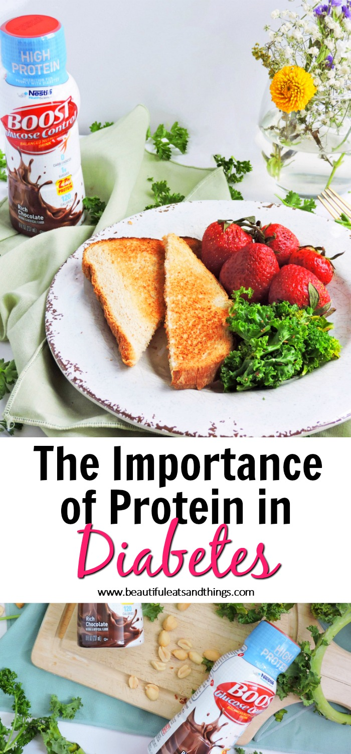 The Importance of Protein in Diabetes, Boost High Protein Glucose Control