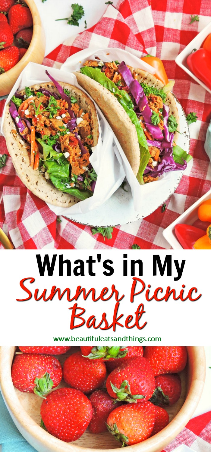 What's in My Summer Picnic Basket