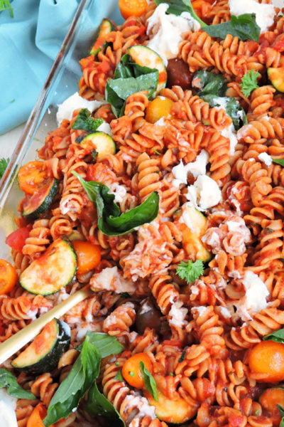 Veggie-Loaded Whole Wheat Pasta Bake