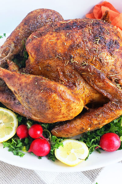 Cajun & Herb Slow-Roasted Turkey