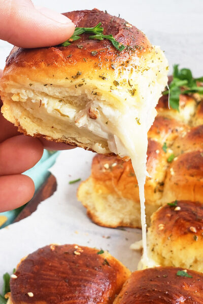 Cheesy French Onion Chicken Sliders