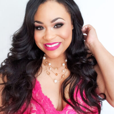 Easy Glamorous Valentine's Day Makeup Ideas with African American Registered Dietitian Andrea Mathis beautifuleatsandthings.com