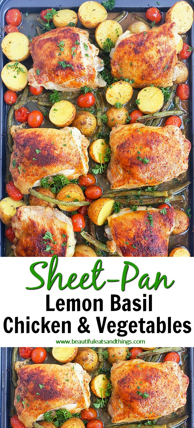 Lemon Basil Chicken & Vegetables 7