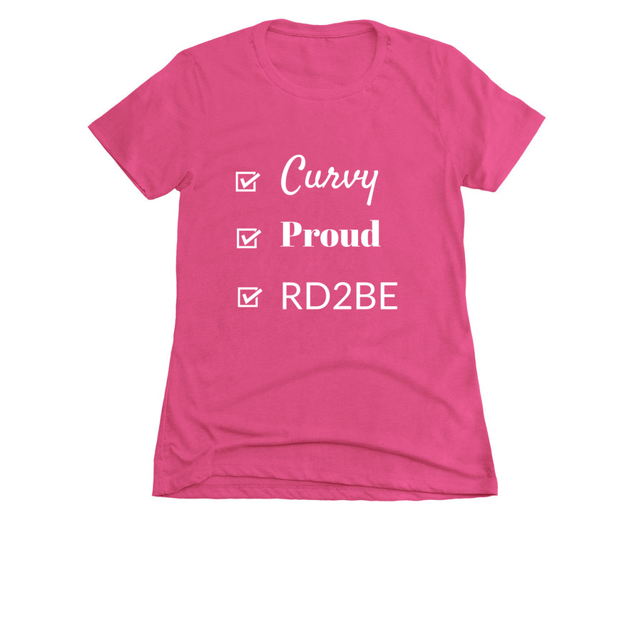 registered dietitian to be shirt