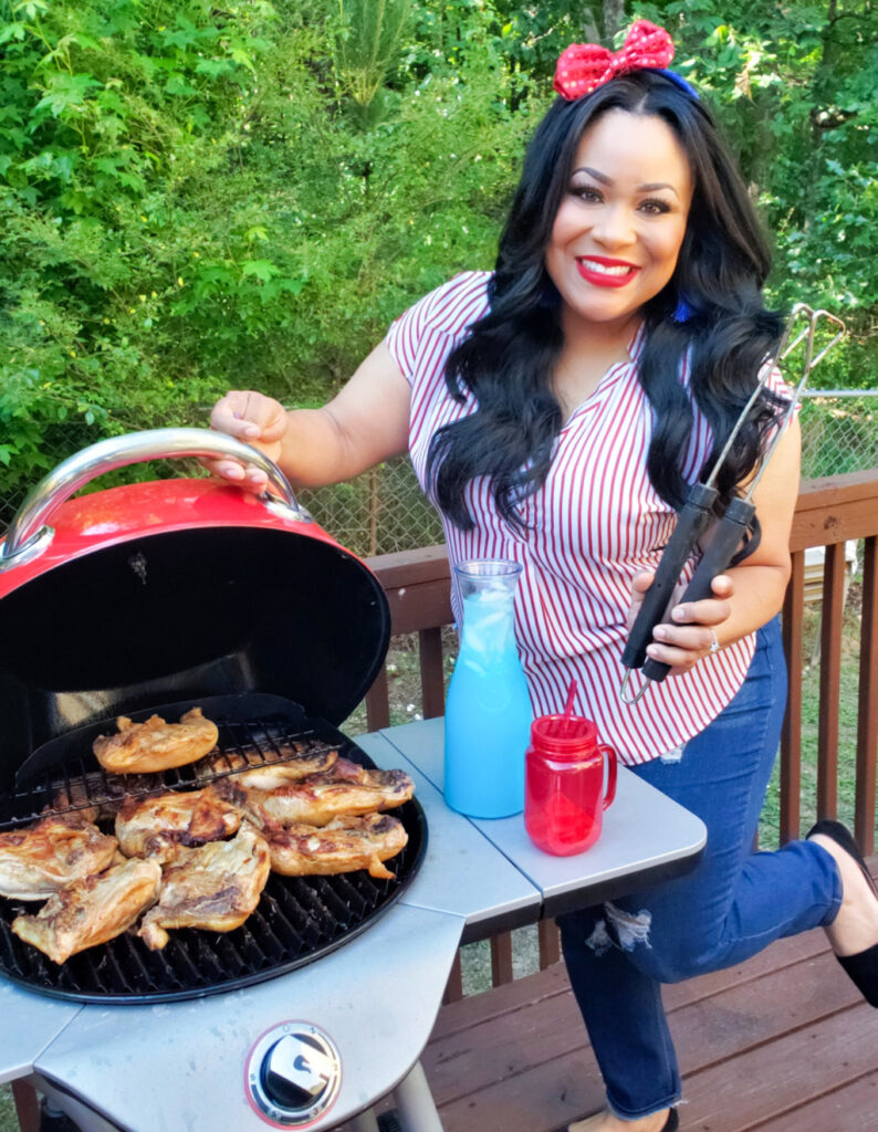 To plan the most perfect DIY 4th of July Backyard Party, I went to Dollar General to see what I could find because that has been my 'go-to' place for everything party related! #fourthofjuly #4thofjuly #cookout #familycookout beautifuleatsandthings.com