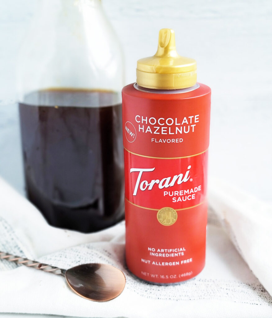 chocolate hazelnut iced coffee, Starbucks copycat recipe  beautifuleatsandthings.com