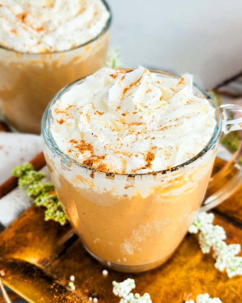 This homemade Brown Sugar Pumpkin Spice Latte recipe is quick and easy to make, perfect for Fall  beautifuleatsandthings.com